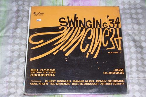 bill dodge - swinging 34 vol 2 - lp vinilo jazz