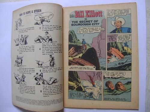 bill elliott comics n°13 apr jun 1954 dell comics publishing