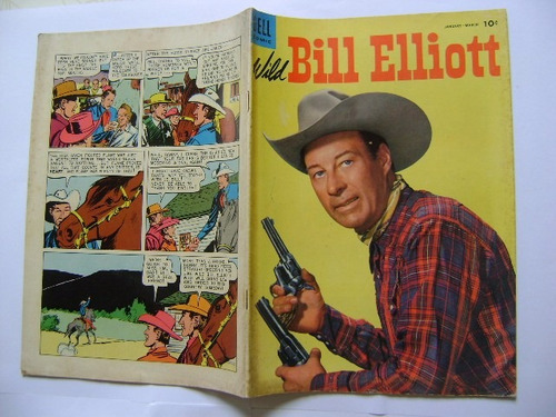 bill elliott comics n°16 jan mar 1955 dell comics publishing