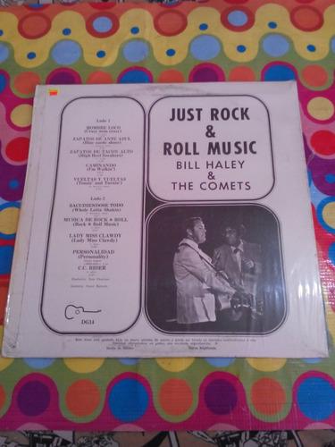 bill haley & the comets lp just rock & roll r