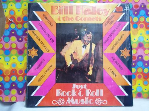 bill haley y the comets lp just rock y roll, seminuevo