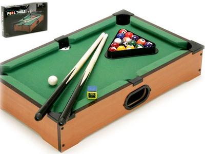 billar pool portatil de madera - full accesorios