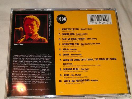billboard 1986 top hits cd importado maa