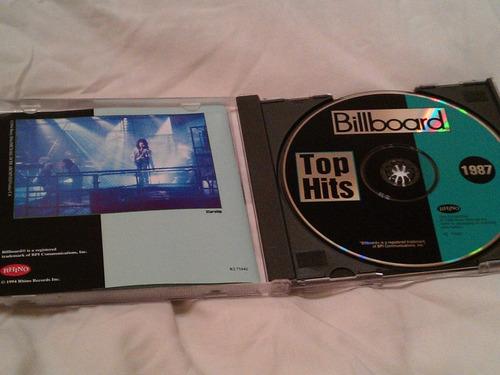 billboard 1987 top hits  cd importado maa