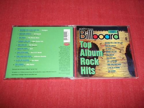 billboard top album rock hits - 1981 cd varios mdisk
