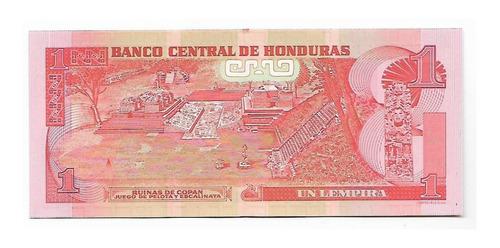 billete 1 lempira honduras 2012