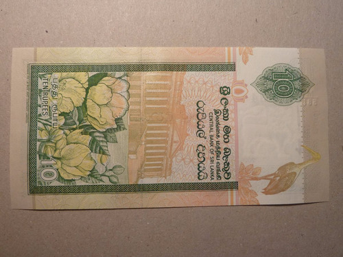 billete 10 rupias 2006 sir lanka - vp