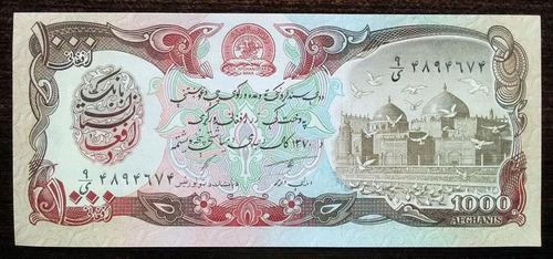 billete 1.000 afghanis afganistán 1991 pick 61c sin circular