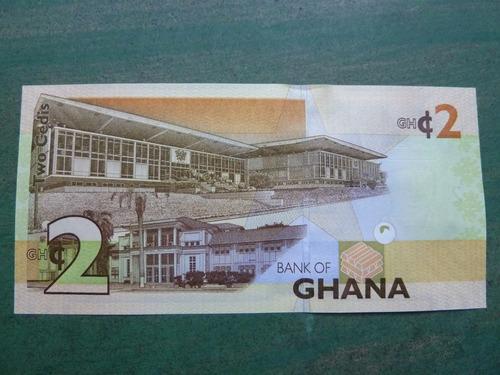 billete 2 cedis 2013 ghana ( foto referencial ) - vp