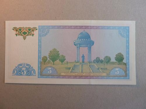 billete 5 sum 1994 uzbekistan - vp