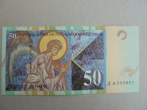 billete 50 dinari 2007 macedonia  - vp