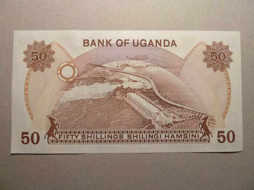 billete 50 shilings uganda  - vp
