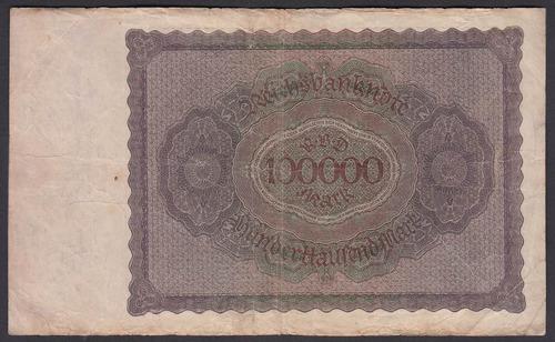billete alemania 100.000 marcos año 1923 (c85)