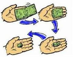 billete animado ( en dos pesos argentinos)