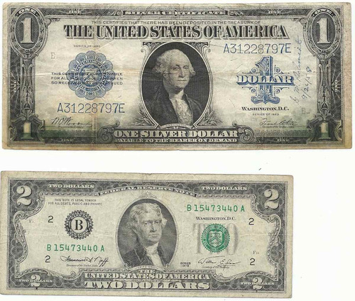 billete antiguo 1 dolar 1923 tamaño grande palermo