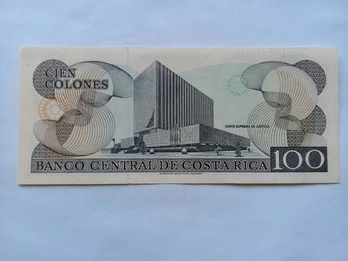 billete antiguo de costa rica rema