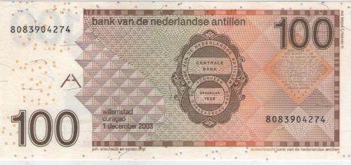 billete antillas holandesas 100 gulden 2003 pick 31c  s/c