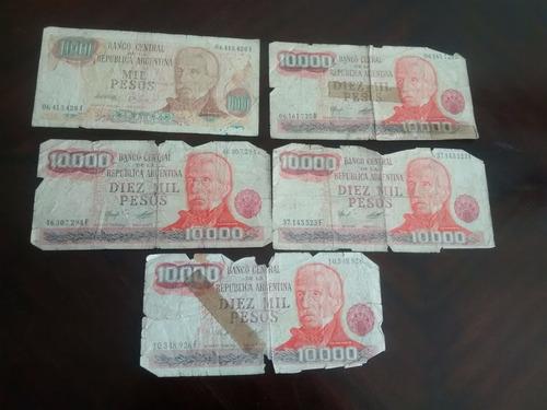 billete argentina 1000 pesos