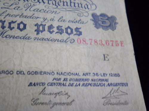 billete argentina pesos