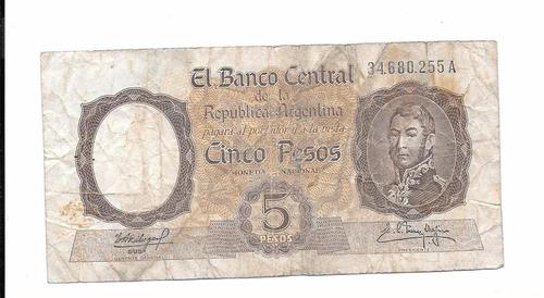 billete argentina. pesos