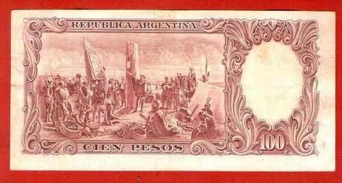 billete argentino 100 pesos ley 12155