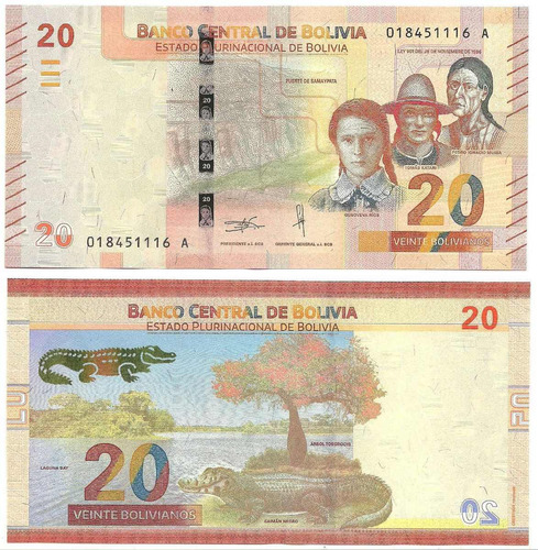 billete bolivia moneda
