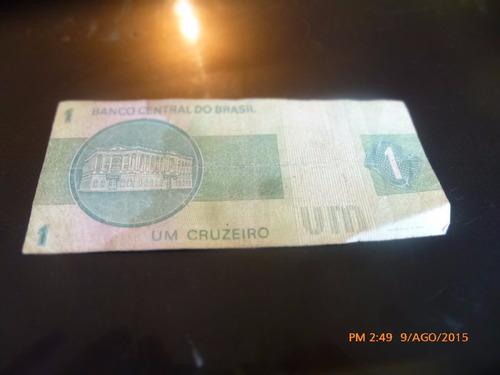 billete brasil  1 cruzeiro - (c-7 -1