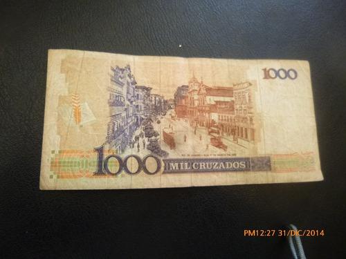 billete brasil -1000 cruzados (c11-2