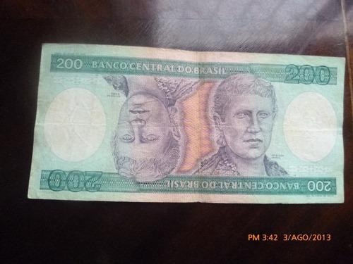 billete brasil 200 cruzeiros (c10-9