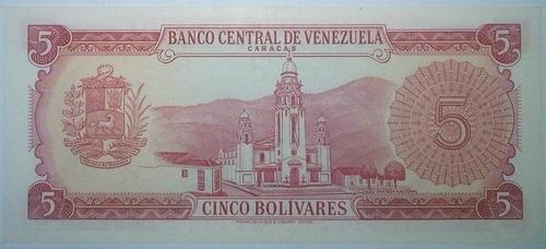 billete bs. 5 29/01/1974 serial d8316869 (au)