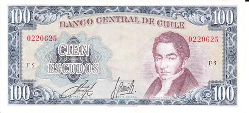 billete cien escudos manuel rengifo