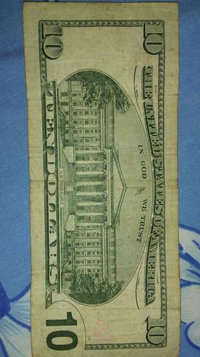 billete coleccion de 10 series 2001 en 12dl