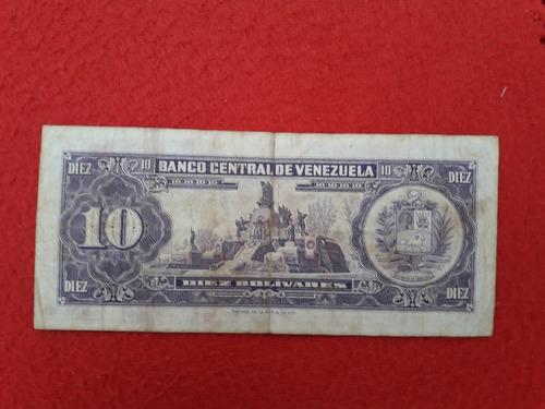 billete colección venezolano.