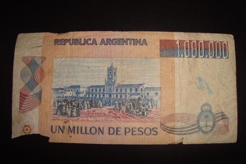 billete de 1 millón de pesos