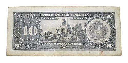 billete de 10 bolívares 5 de junio de 1995 serial q31476529
