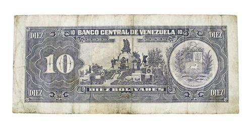 billete de 10 bolívares 5 de junio de 1995 serial s83605759