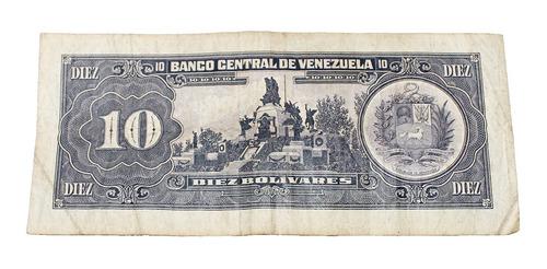 billete de 10 bolívares 5 junio 1995 serial s31883635