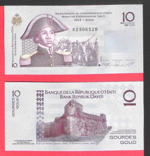 billete de 10 haiti