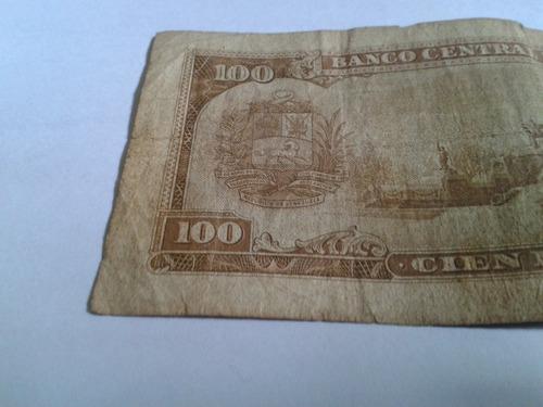 billete de 100 coleccionable de los años 60 usado q0954314
