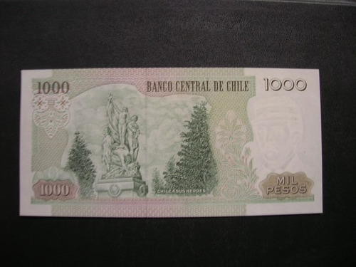 billete de 1000 pesos año 1997 impecable sin circular.