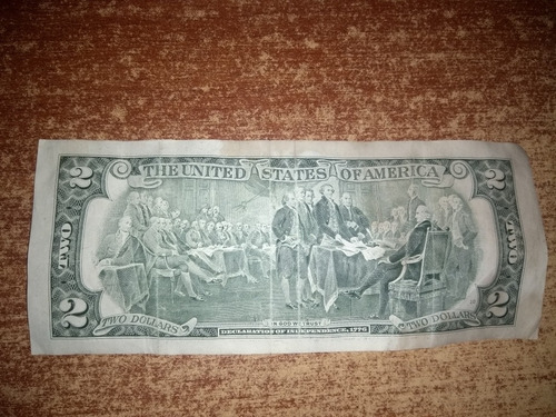 billete de 2 colección
