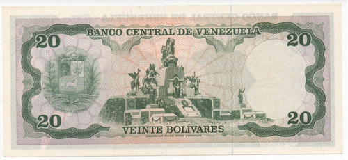 billete de 20 bs junio 1977 s3684917 unc