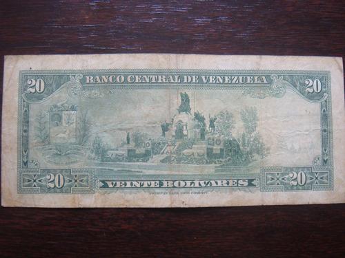billete de 20 enero 29 1974 y otro del año 1972 cada uno