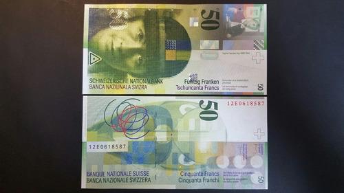 billete de 50 francos suizos ( 20, 100 disponibles )