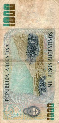 billete de argentina (pdr-329)