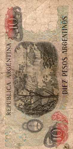 billete de argentina (pdr-340)
