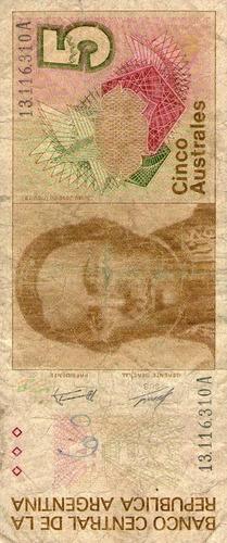 billete de argentina (pdr-357)
