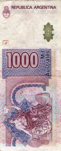 billete de argentina (pdr-358)