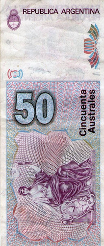 billete de argentina (pdr-363)