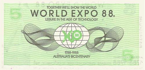 billete de australia